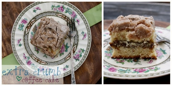 Extra Crumb Coffee Cake | Breakfast Recipes | Pinterest