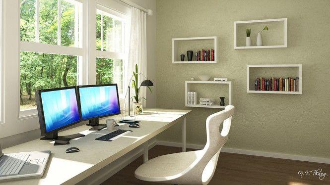 OfficeIdeaHomeDecoPinterestOfficeWallDecals