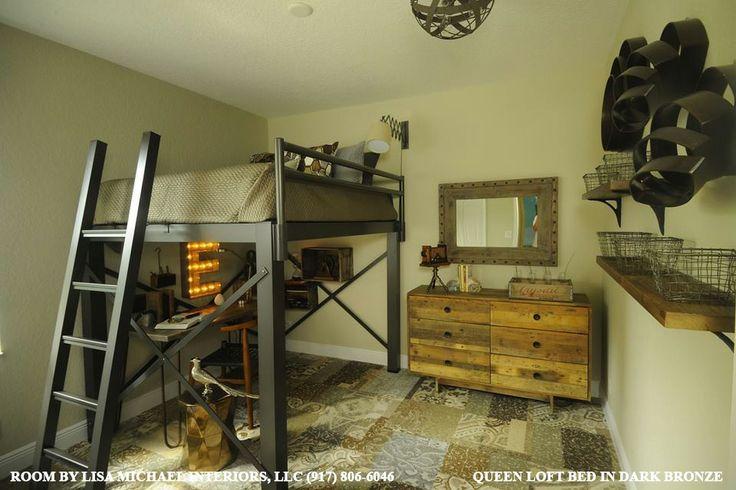 Adult Loft Bed Loft Beds Pinterest