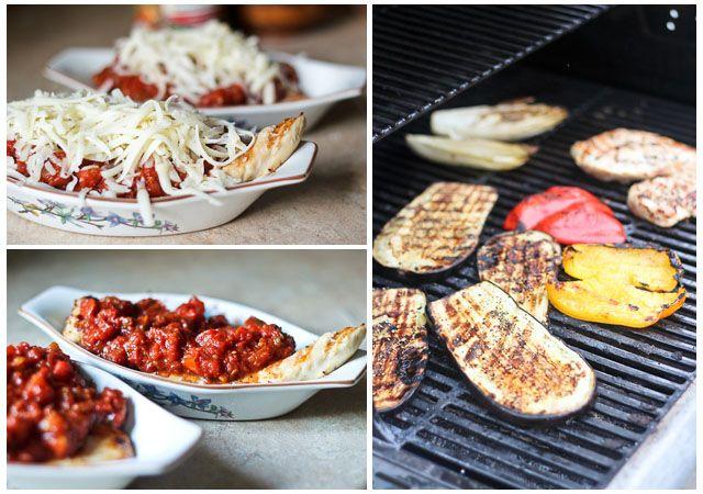 Grilled Chicken Parmesan – A summertime version!