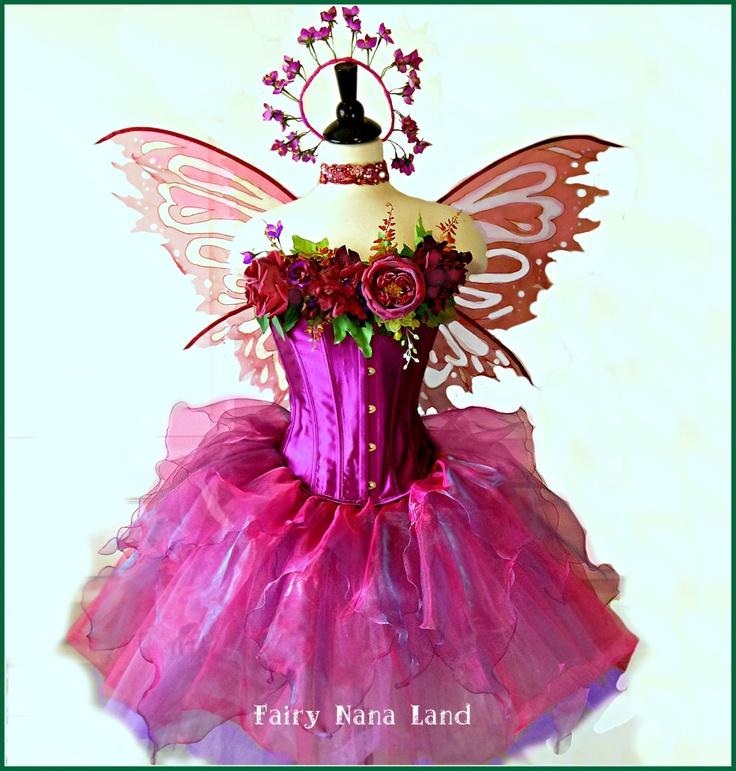 SPRING SALE - Fairy Costume - adult medium - The Flower ...