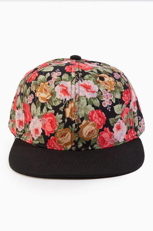 Dope Snapback Floral