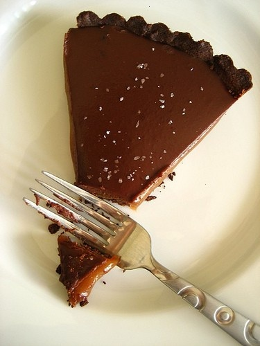 Chocolate Caramel Tart | yummy sweets | Pinterest
