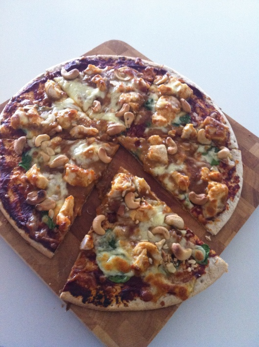 Satay chicken pizza | Pizza | Pinterest