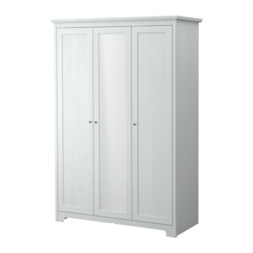 Grundtal Ikea Küchenrollenhalter ~ Large Bedroom Ikea Aspelund Wardrobe 3 Doors White Mirror Selling For