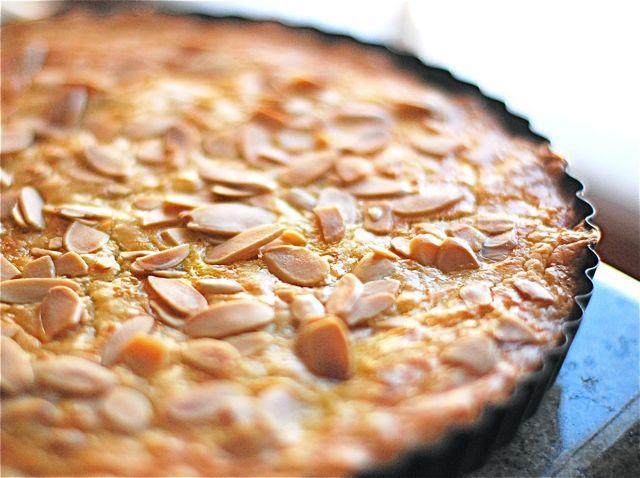 almond shortbread tart tangerine and almond shortbread tart by