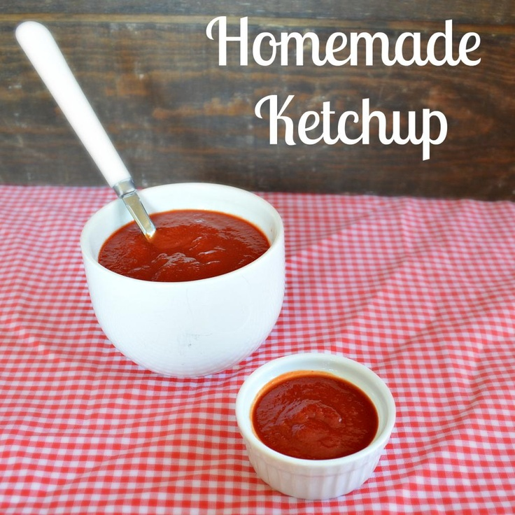 Homemade Ketchup. Will modify to use home canned tomatoes instead of ...