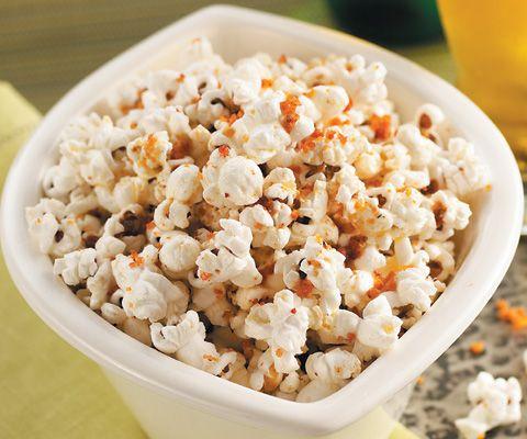 Bacon Popcorn   Appetizer Recipes   Pinterest