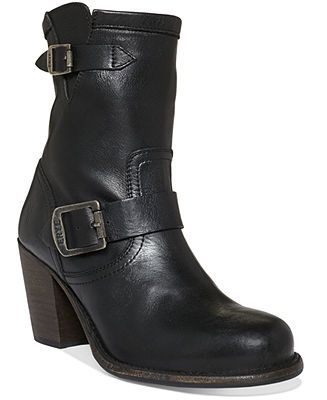 Frye Women's Boots, Karla Engineer Short Booties - Shoes - Macy's