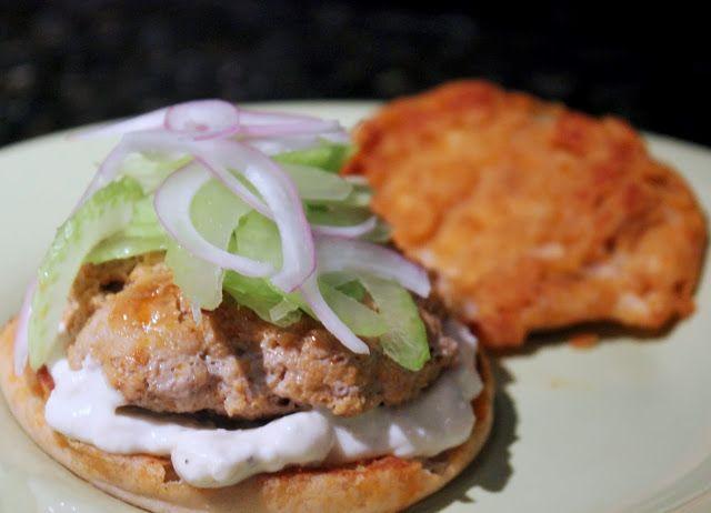 Buffalo Turkey Burgers - June Secret Recipe Club: All of the best ...