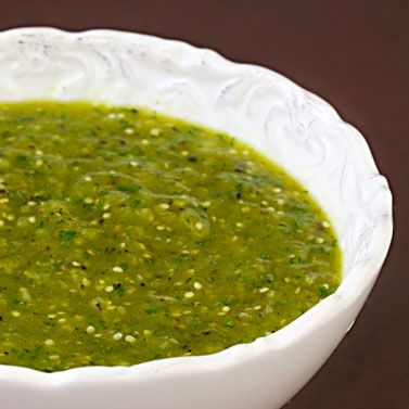 ... salsa verde! | gimmesomeoven.com #mexican #recipe #glutenfree #vegan