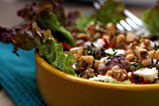 Warm lentil salad | Food and Drinks...