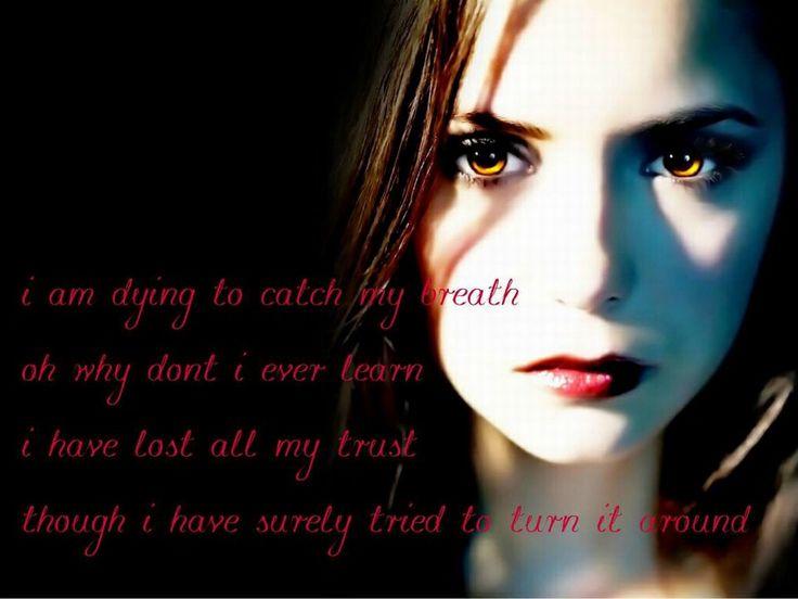 Vampire Love Quotes Wallpaper : Quotes Vampire Diaries Wallpaper. QuotesGram