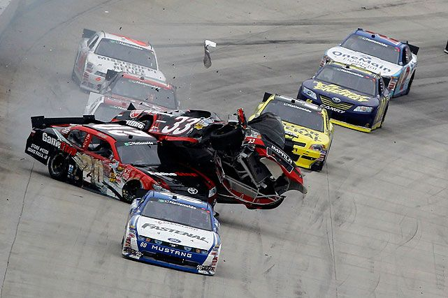 nascar accident compilation