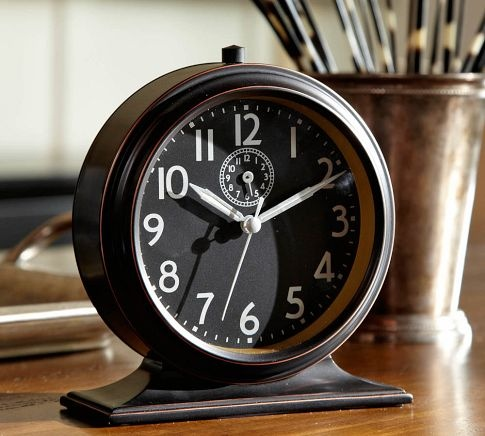 chester alarm clock pottery barn bedroom pinterest