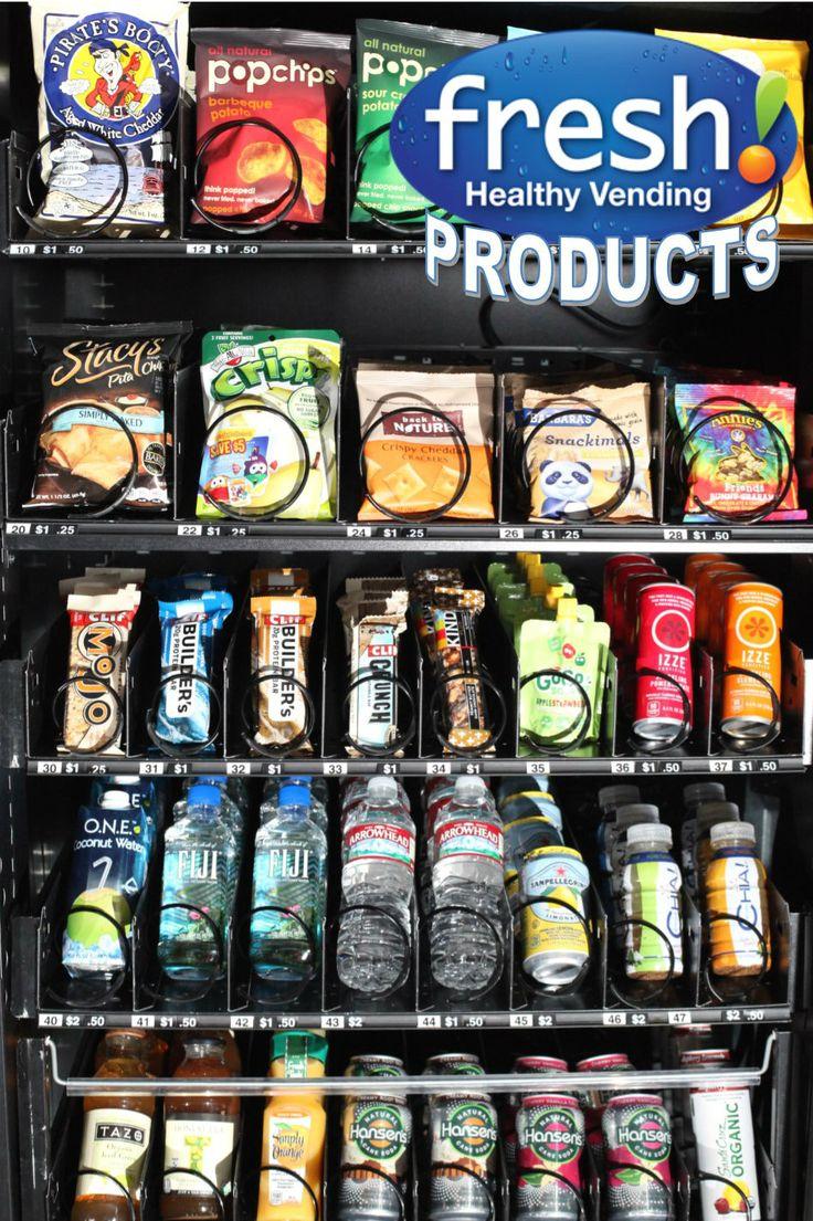 vending machine healthy