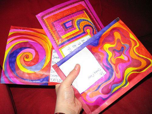 Mail Art by blackvampire, via Flickr