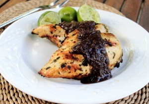 Grilled Chicken with Black bean sauce   Chicken   Pinterest