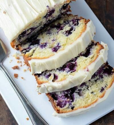 Blueberry lime pound cake | Good eats | Pinterest