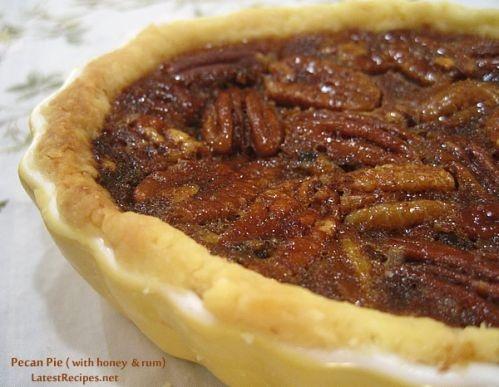 Pecan Pie with Rum & Honey   Dessert   Pinterest