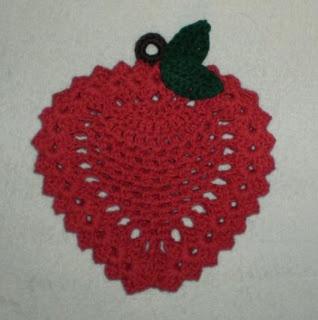 Rose Potholder | Crochet Patterns - Free Vintage Crochet