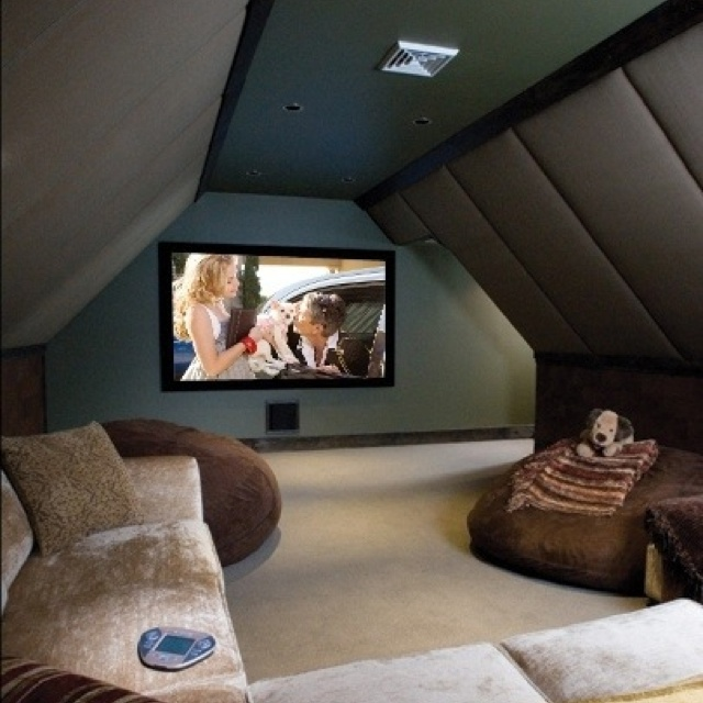Garage Attic Man Cave : Attic man cave for the home pinterest