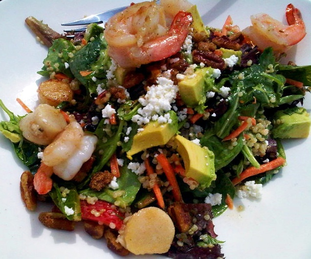 Spinach And Quinoa Salad With Grapefruit And Avocado Recipe ...