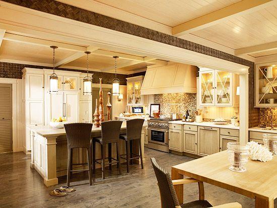 Nice big kitchen dream home pinterest for Nice kitchen
