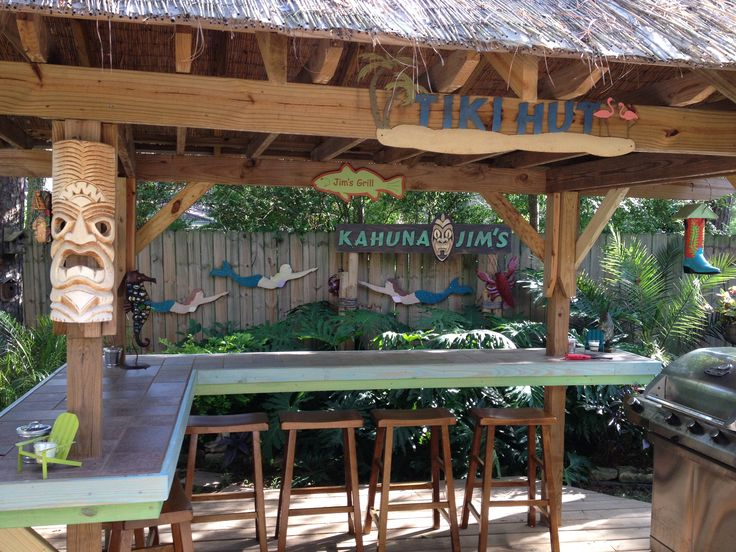 Outdoor Bar and Grill  Porch Life  Pinterest