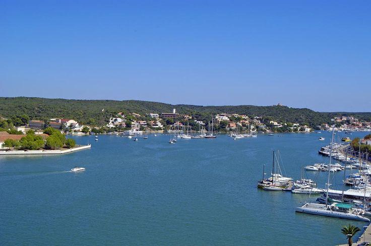Spain, Baleares, Menorca, Mahón Port  Spain, Islas Baleares ♦ Balear…