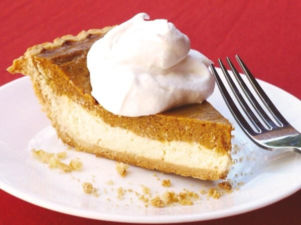 Pumpkin Pie Cheesecake Recipe — Dishmaps