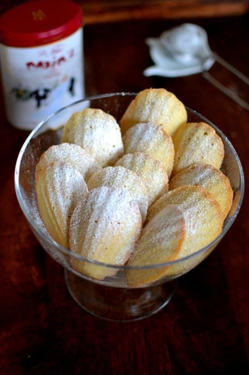 Vanilla Madeleines | Freshly Baked - Cookies/Biscuits | Pinterest