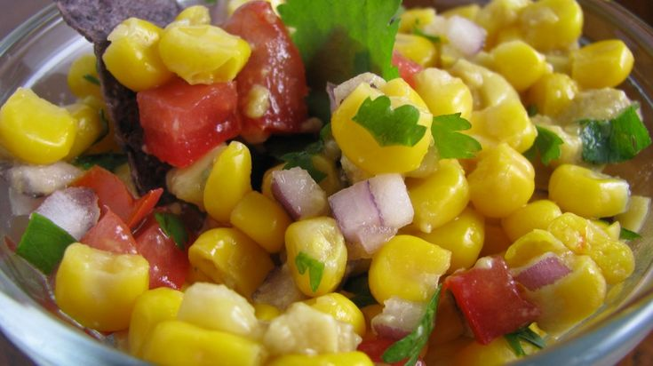 sweet corn and avocado salsa   This should be in my mouth   Pinterest