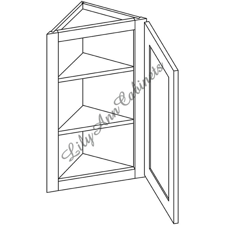 wall end angle cabinet