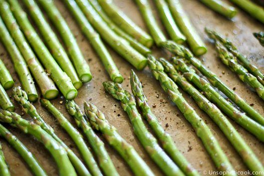Unsophisticook™ » Simple Roasted Sesame Asparagus