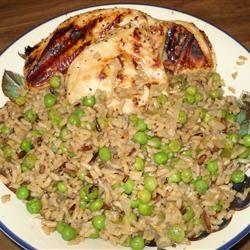 Garlic Chicken Fried Brown Rice Allrecipes.com http://allrecipes.com ...