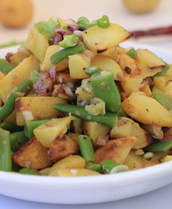 Roasted Potato Salad Nicoise (Gluten-free, Dairy-free)