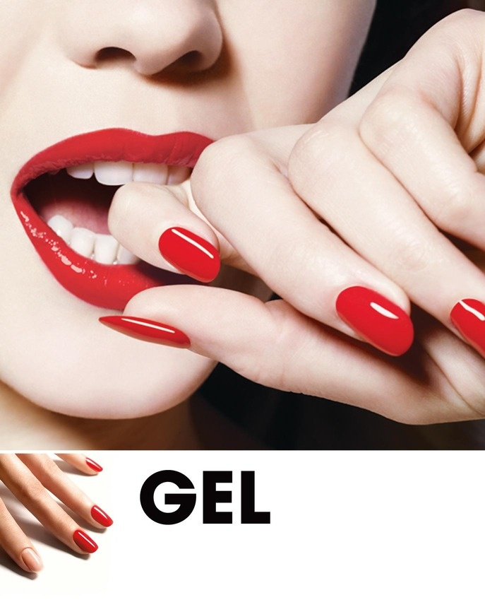 DIY Gel Nails - super easy do-it-yourself Gel nail products and tips