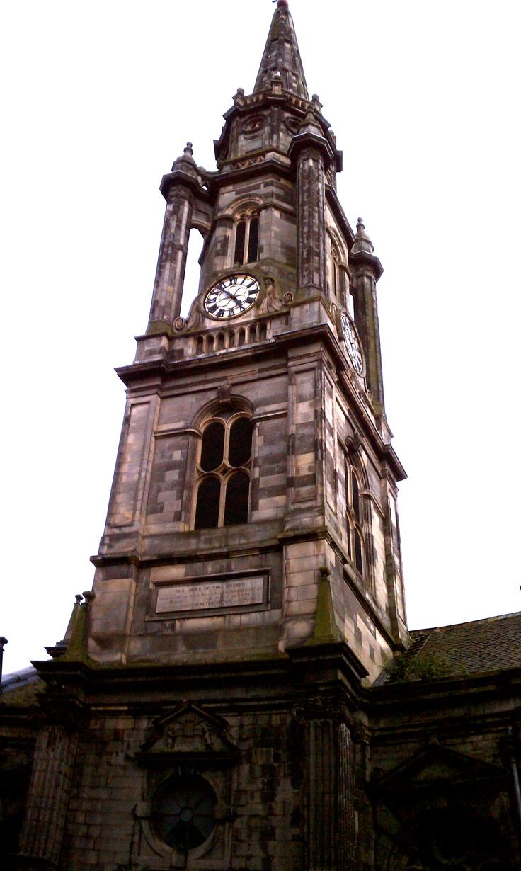 Clock Tower, Edinburgh, Scotland | My Travels | Pinterest