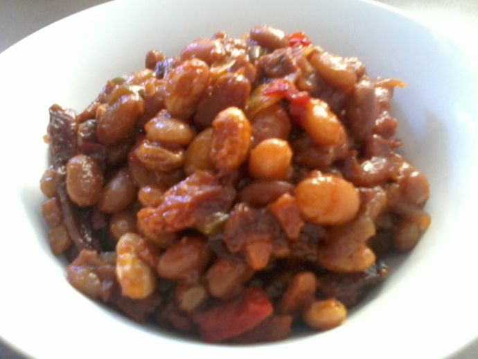 Slow Cooker Baked Beans | Cruelty Free Recipes | Pinterest