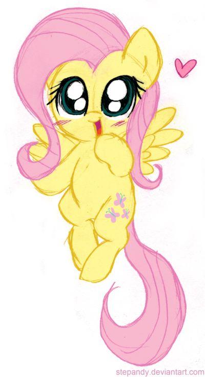 My little pony fluttershy cute - photo#2