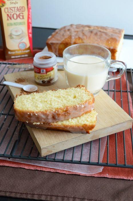 Whipped Eggnog Loaf Cake | Recipe