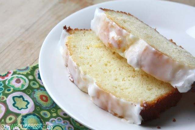 Iced Meyer Lemon Yogurt Cake--- I have the mix just need to make a ...