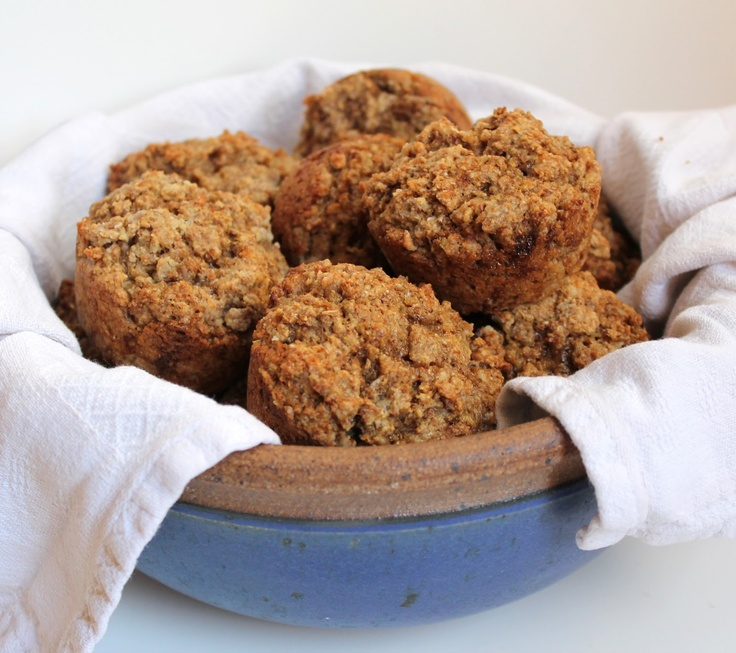 Coconut Oil Bran Muffins. Not you grandma's bran muffins. These things ...