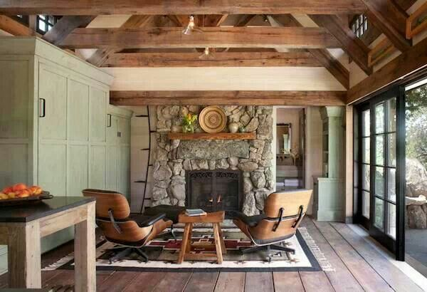 Fireplace Small House Ideas Pinterest
