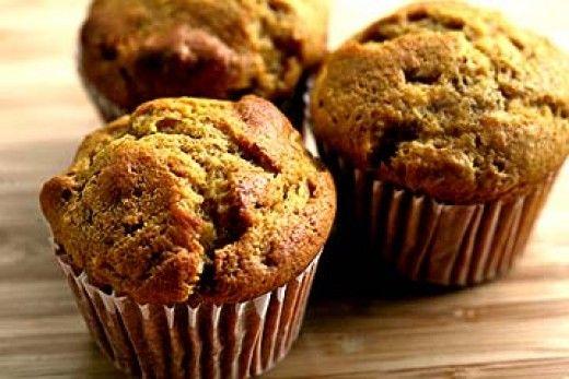 Pumpkin Nut Muffins | Recipes | Pinterest