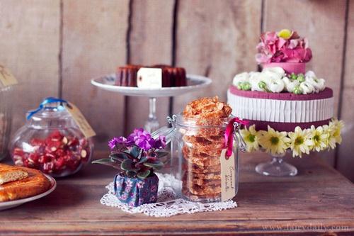décoration mariage rustique chic  Buffet desserts /Mariage civil  P ...