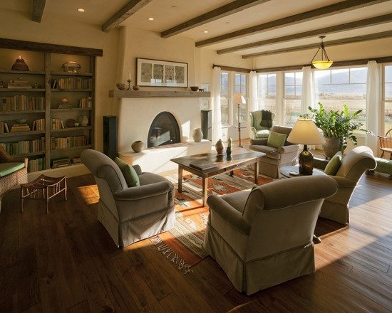 Kiva Fireplace Design Living Life In Color Decor