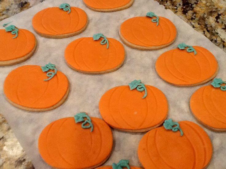 Pumpkin spice sugar cookies. | Citrus Spice Bakery | Pinterest