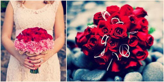 Valentine 39 S Day Wedding Flowers Wedding Flowers Bridal Bouquets